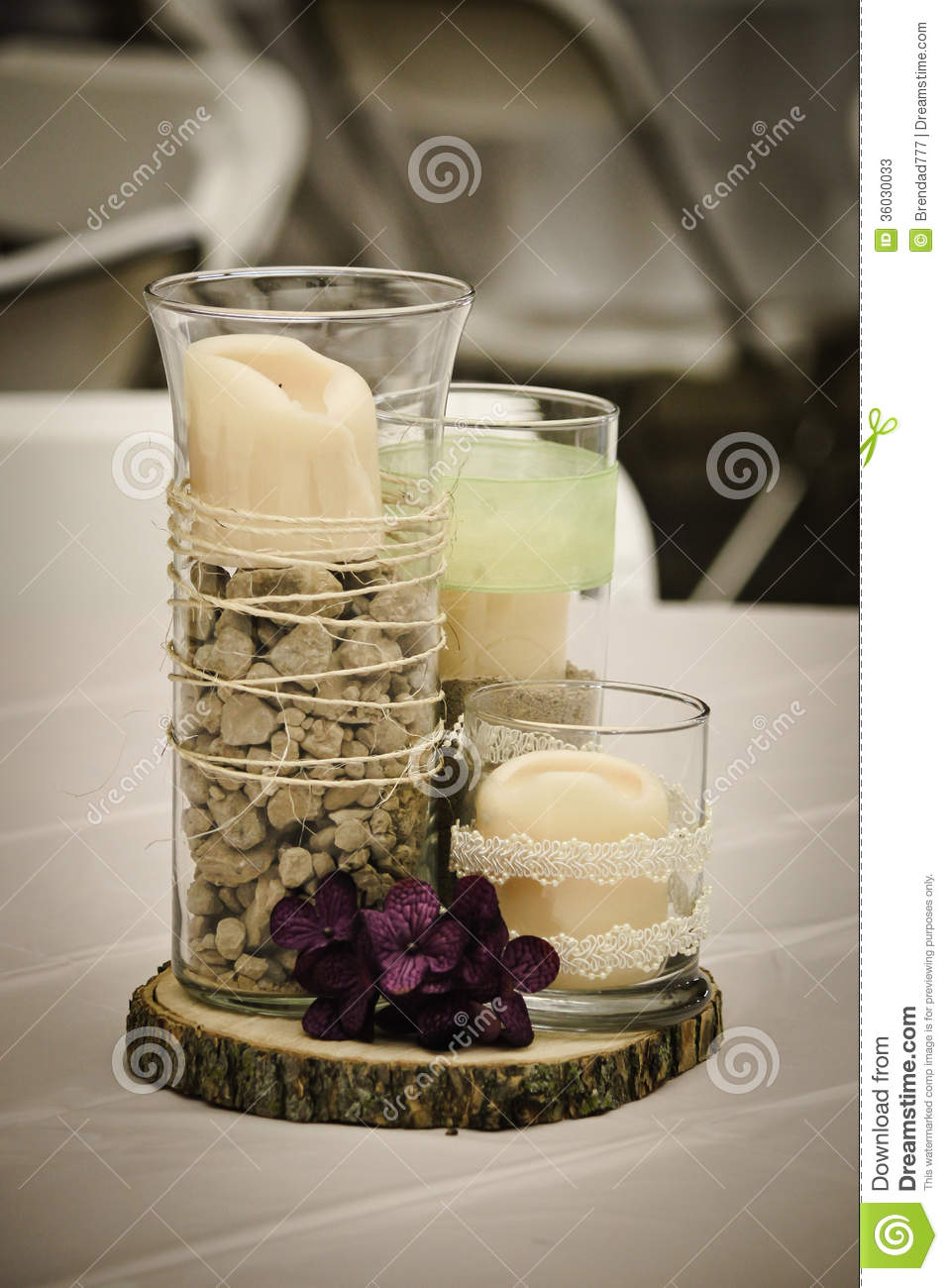 Rustic Centerpiece Stock Photos Image 36030033
