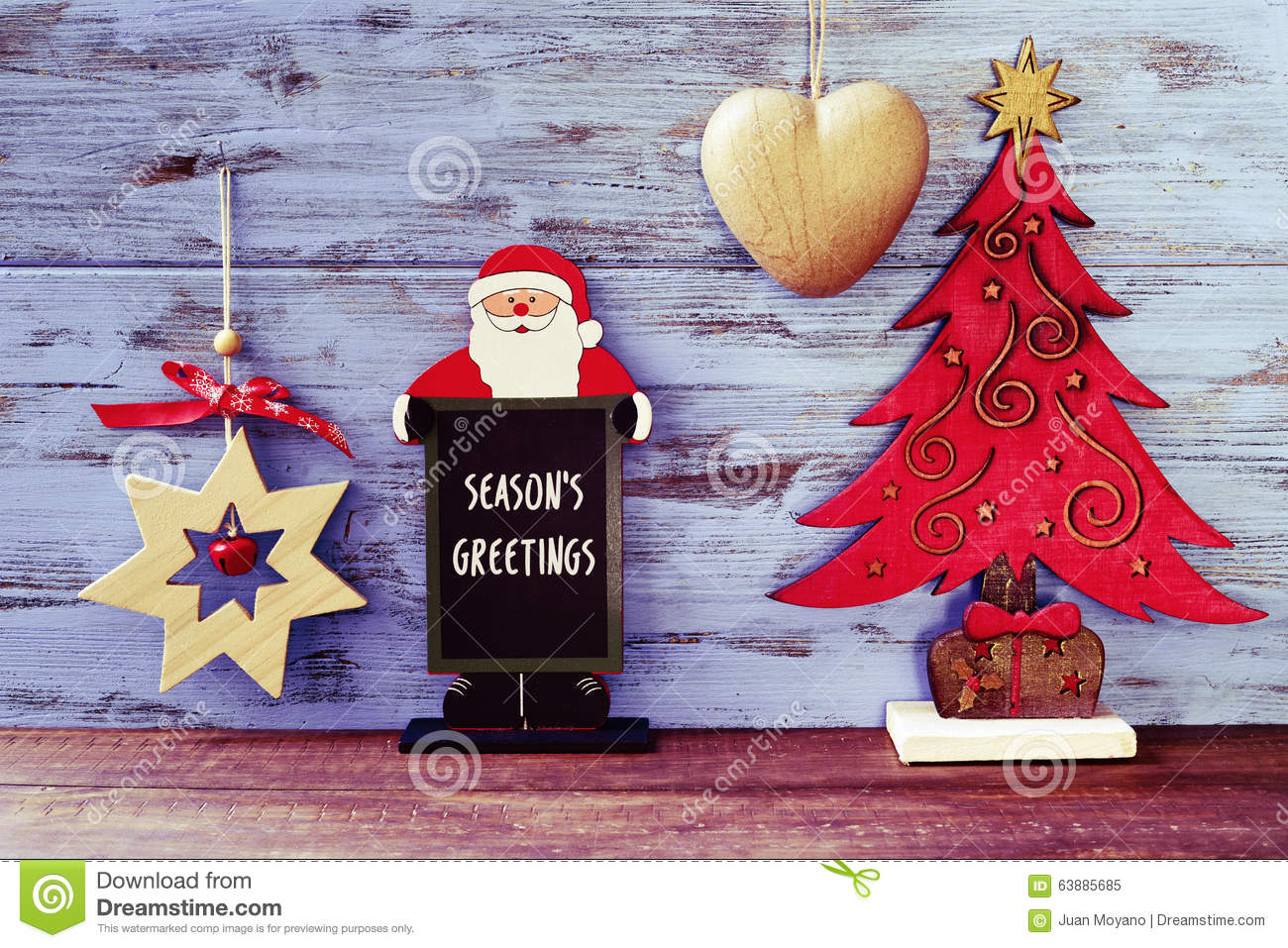 Rustic christmas ornaments and text seasons greetings stock image download rustic christmas ornaments and text seasons greetings stock image image of greeting nostalgia m4hsunfo