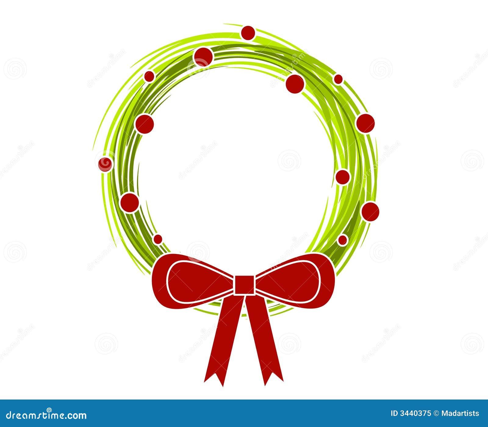 Rustic Christmas Wreath Bow 2