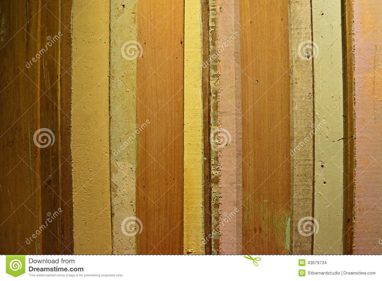 Rustic Colorful Wood Plank Background Stock Photo - Image of ...