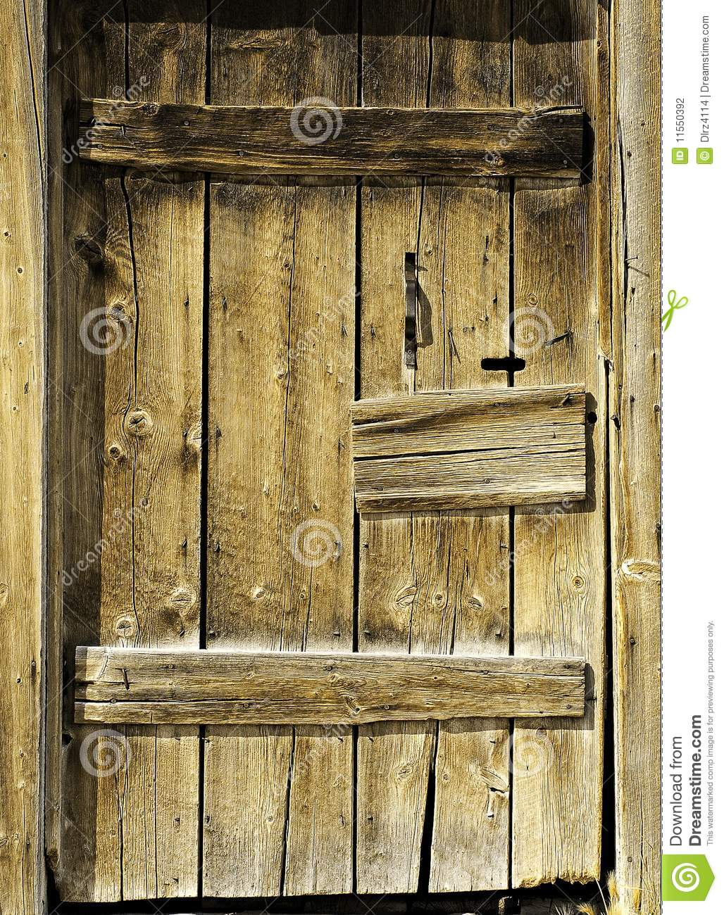 Rustic Door Stock Photography - Image: 11550392