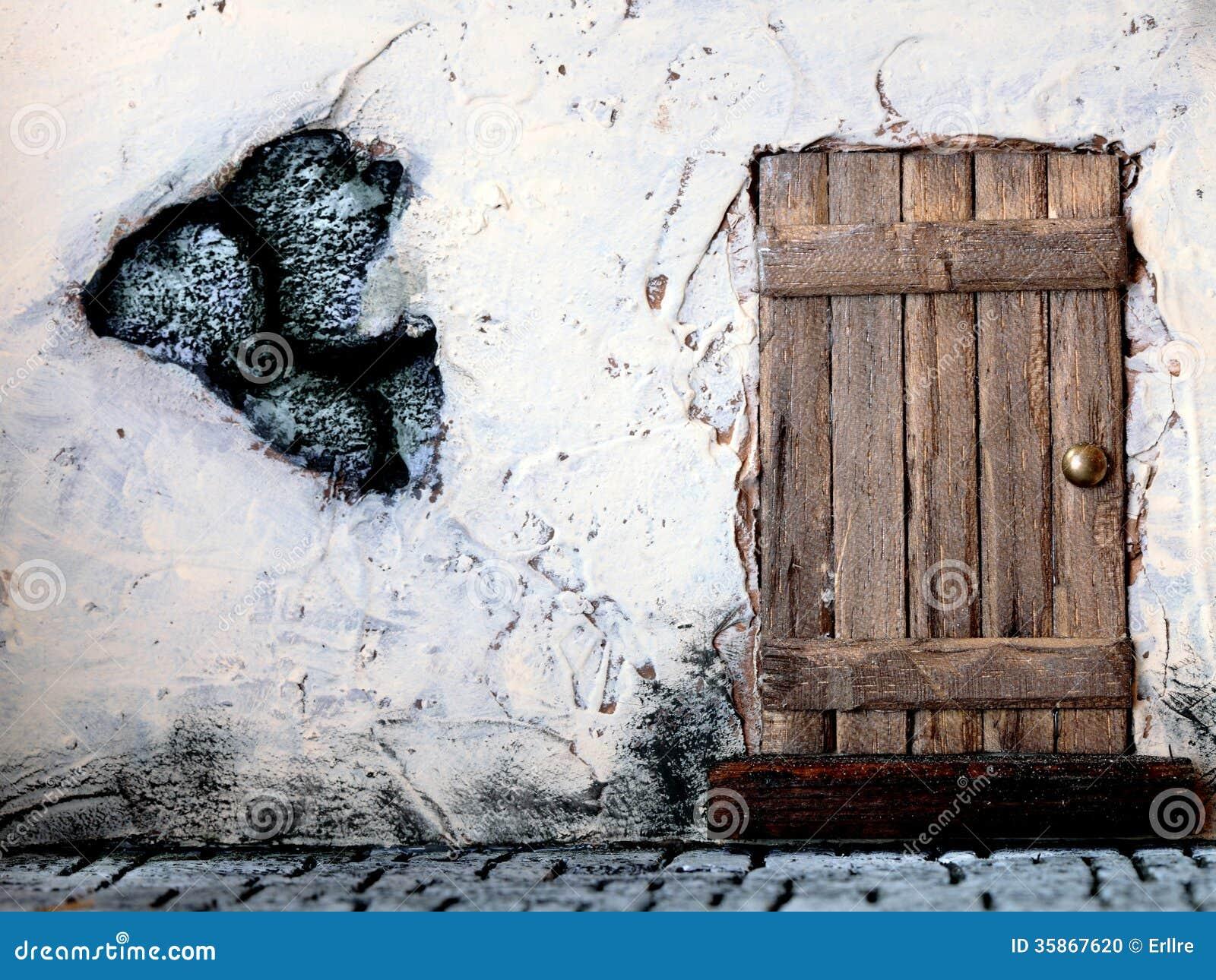 Rustic Door Stock Photo Image 35867620