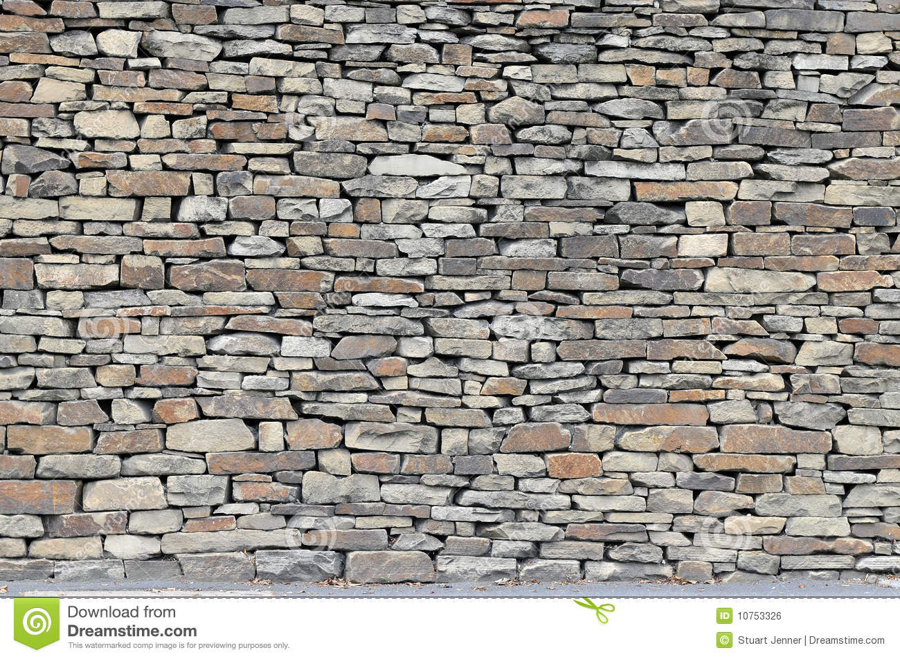 Rustic Stone Walls : Rustic dry stone wall stock photo image of stack