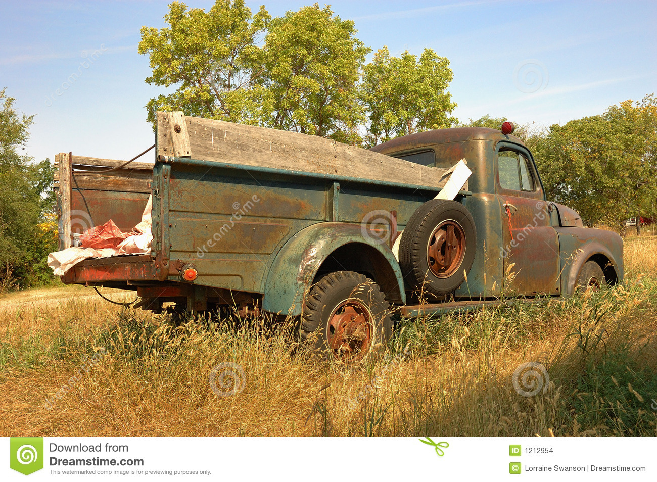 Download Rustic Farm Truck Stock Photo Image Of Ancient Automobile