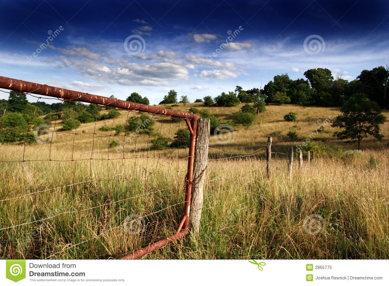 Rustic Gate Royalty Free Stock Photo - Image: 2865775