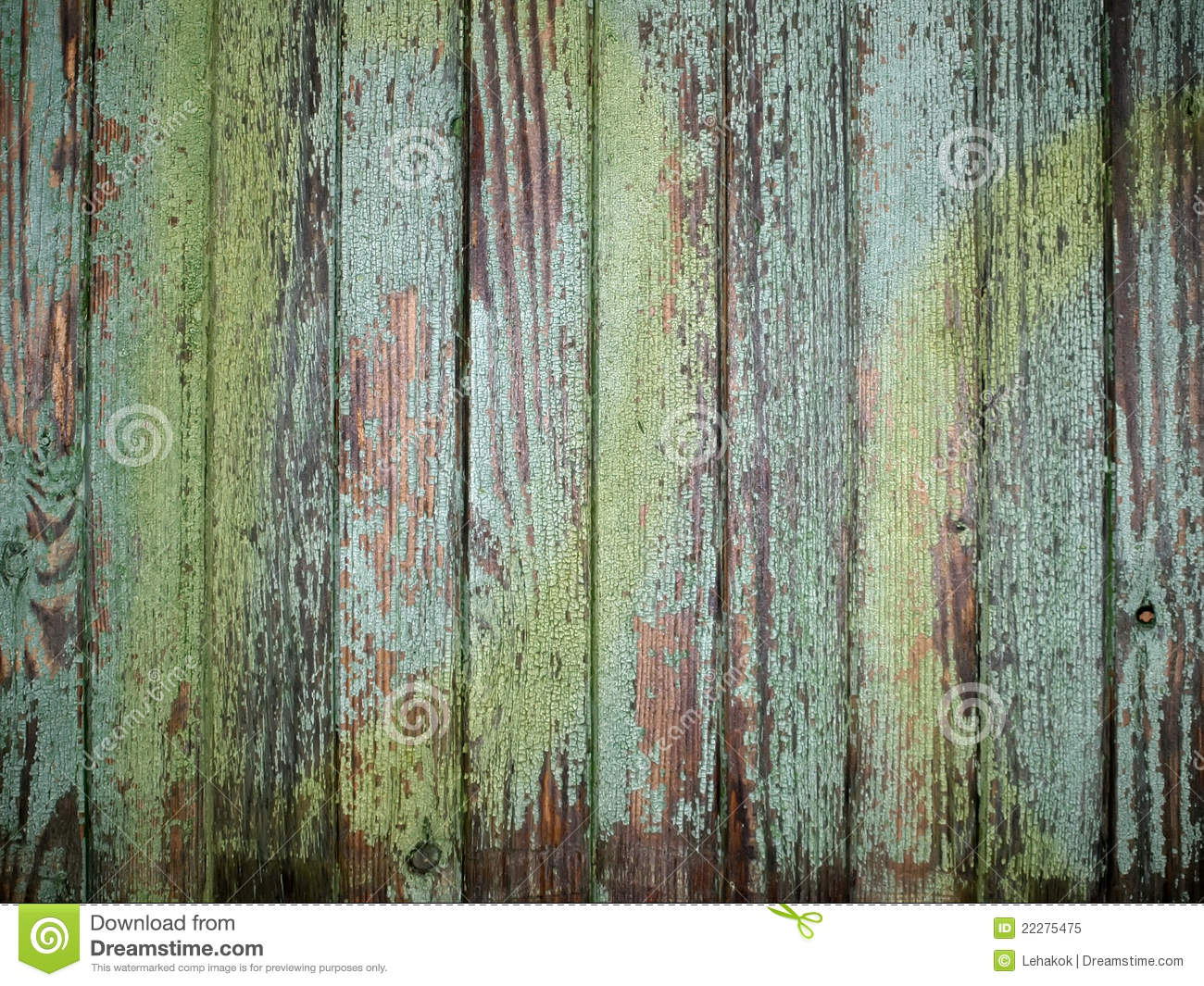 Rustic Green Wood Royalty Free Stock Photo Image 22275475