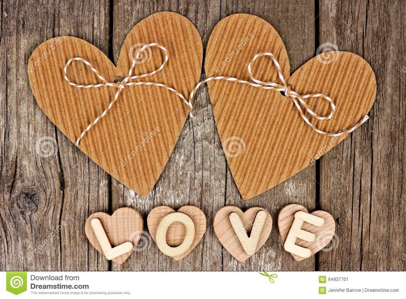 Love Sign Wood Letters