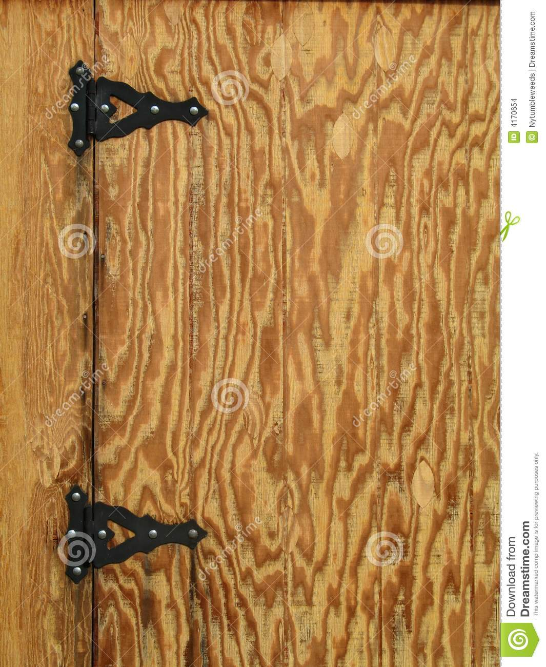 Royalty Free Stock Photo. Download Rustic Hinges ...