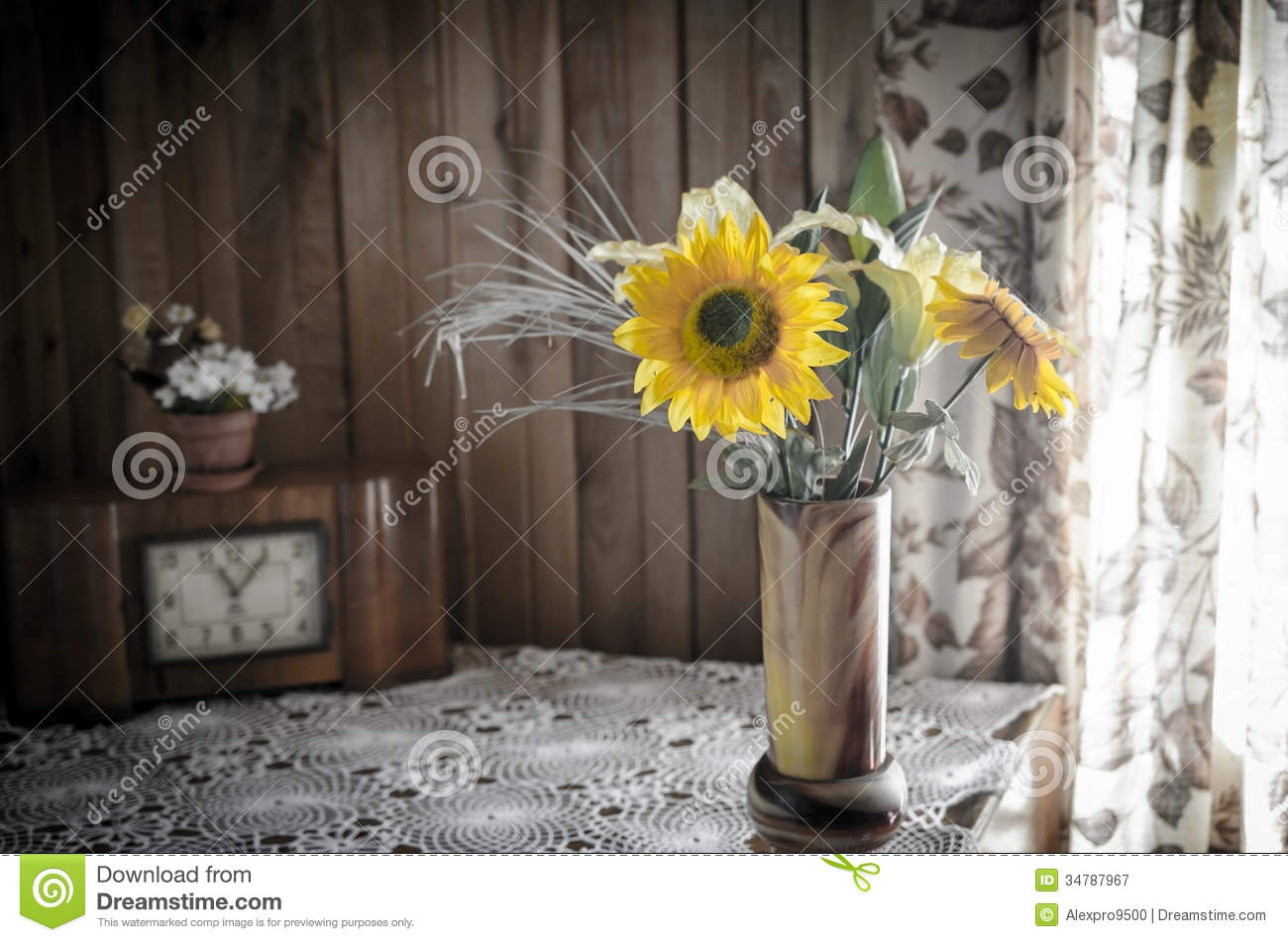 Rustic interior still life stock image. Image of country ...