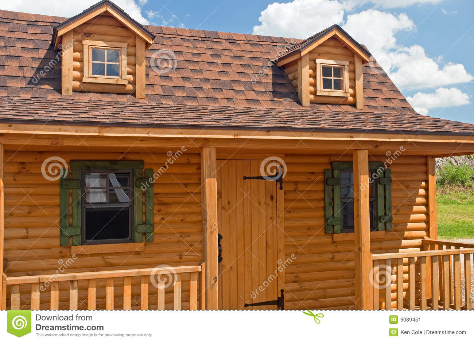 Rustic Log Cabin stock image. Image of doorway, gable - 6089451 on log home pergola designs, log home roof designs, log home window designs, log home carports, log home patio designs, log home cornice designs,