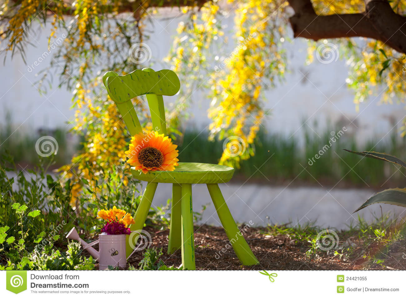 Rustic Nature Stock Image Of Idyll Environment