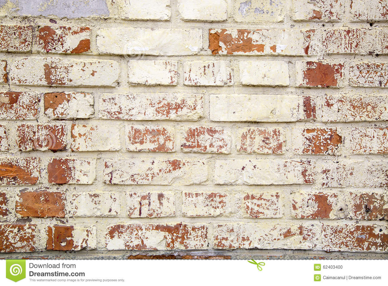 Rustic Old Brick Wall Texture Stock Photo Image 62403400