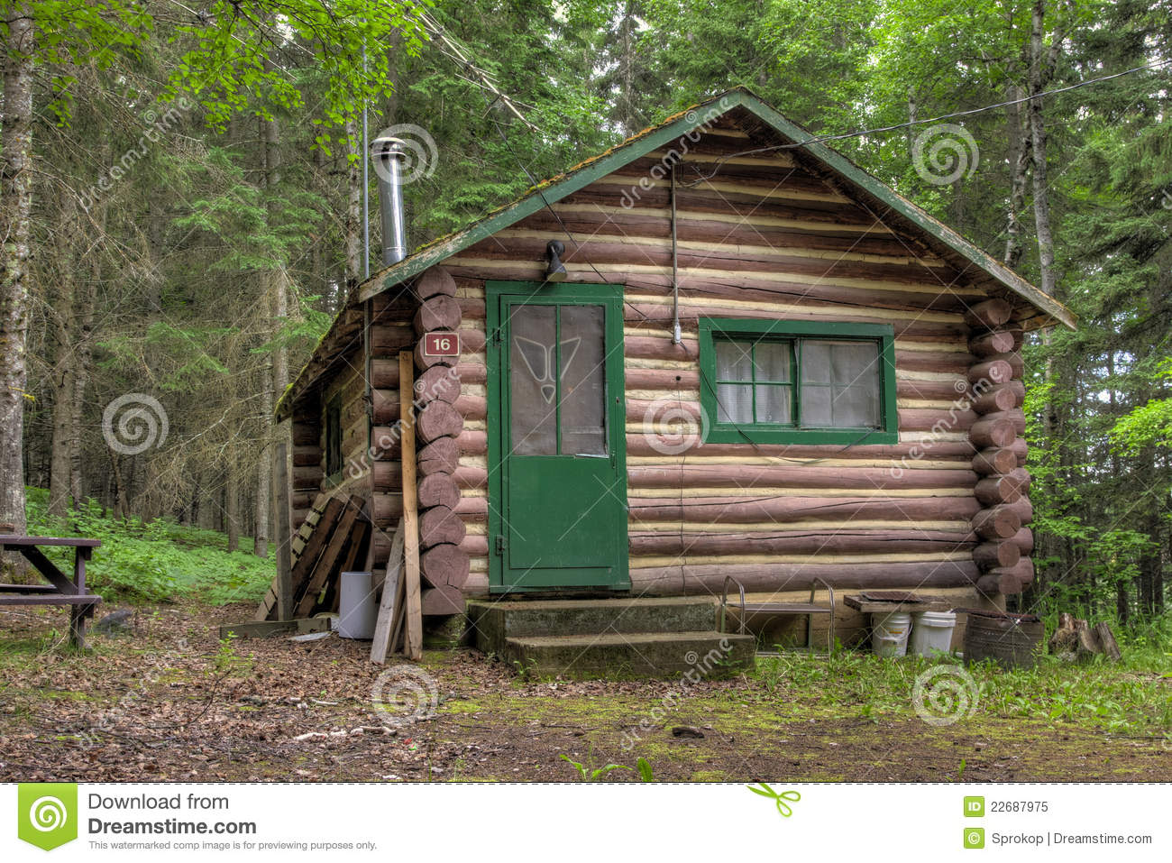 Rustic old log cabin royalty free stock photo image for Rustic log homes