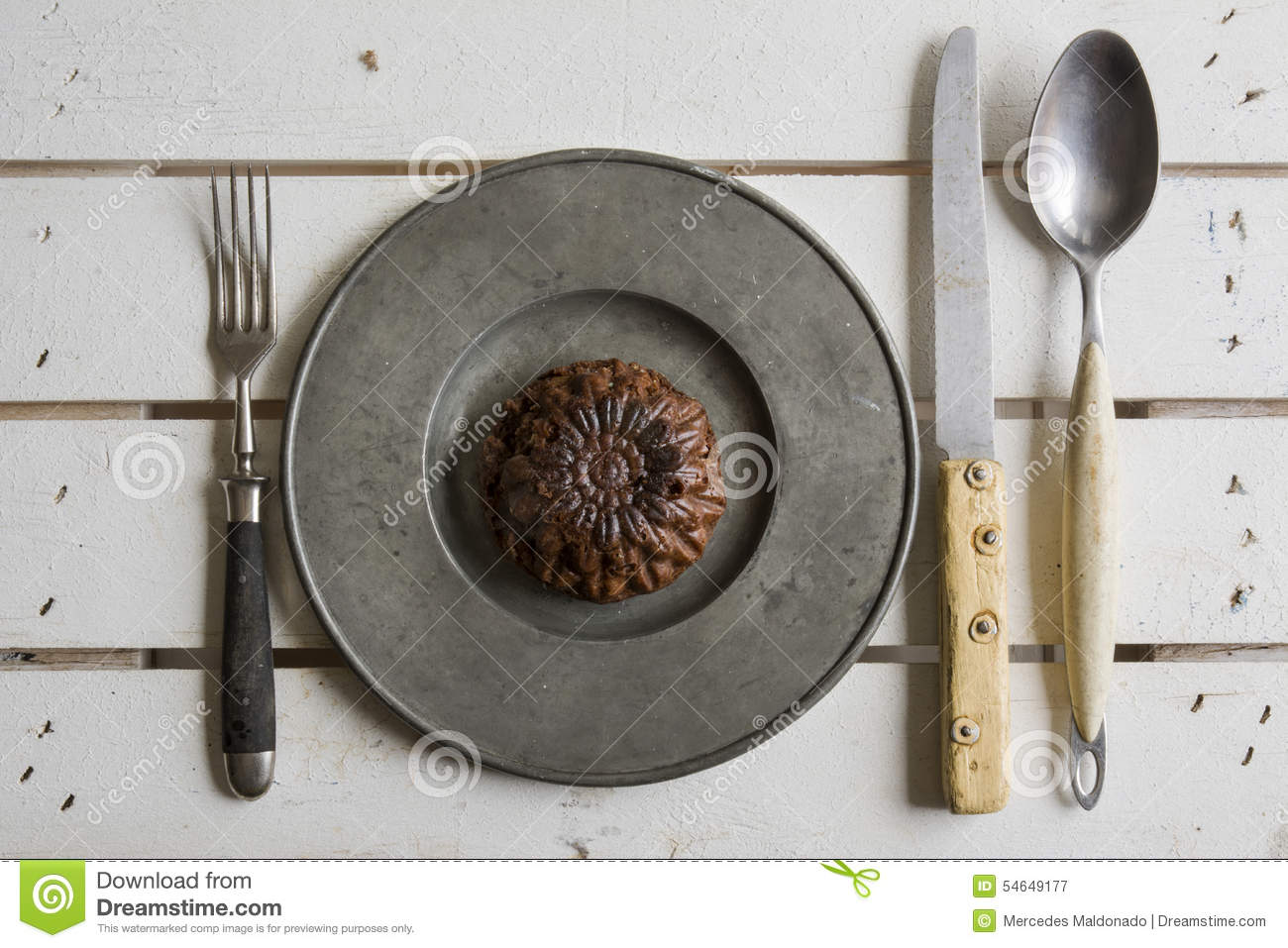 Rustic place setting stock photo image 54649177 for Place setting images