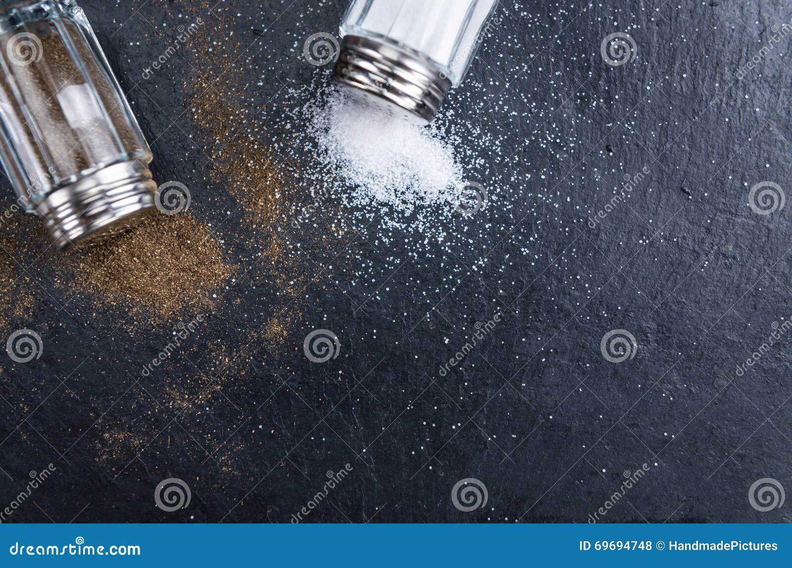 Rustic Salt and Pepper Shaker