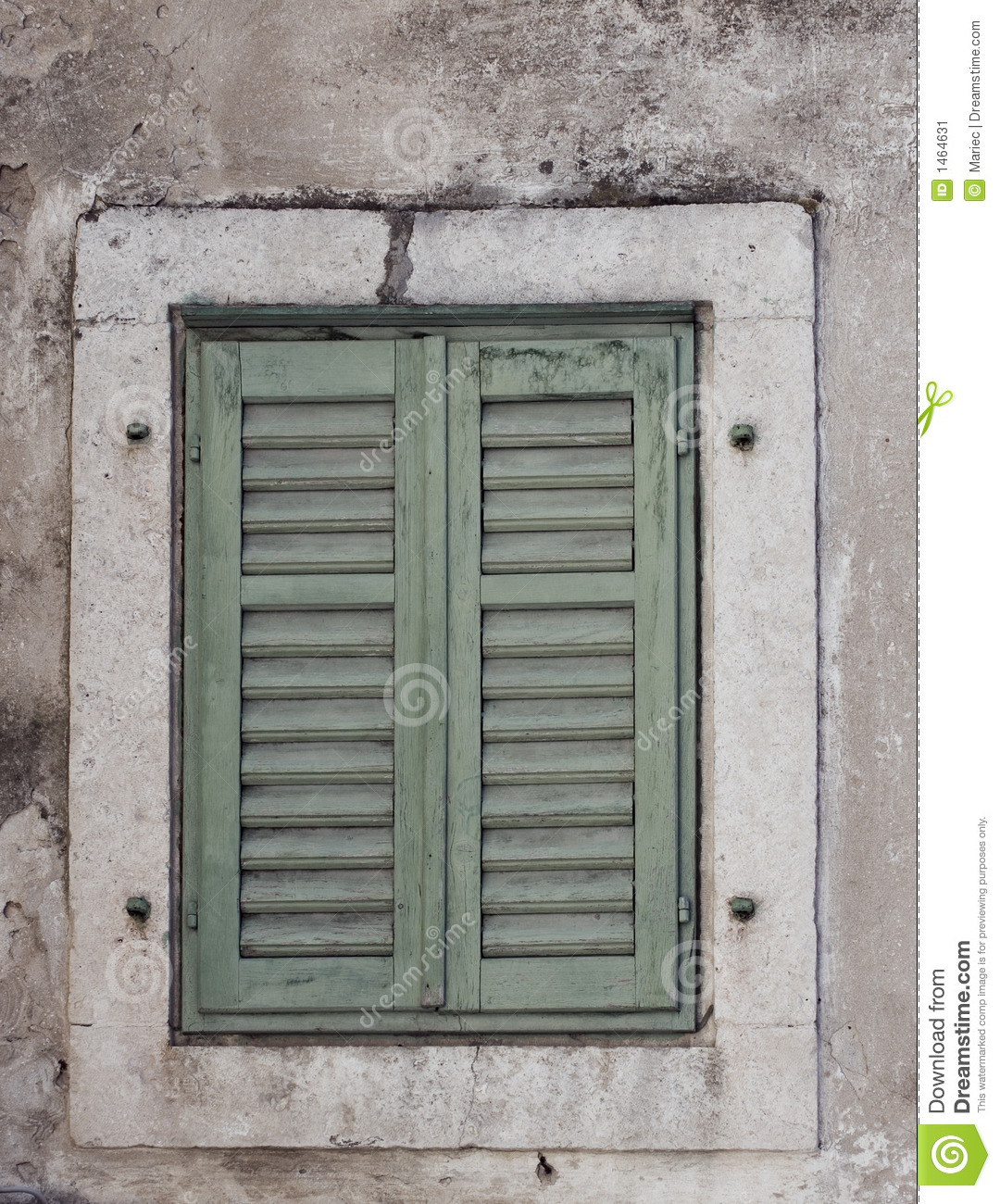 Rustic Shutters Stock Image Image 1464631