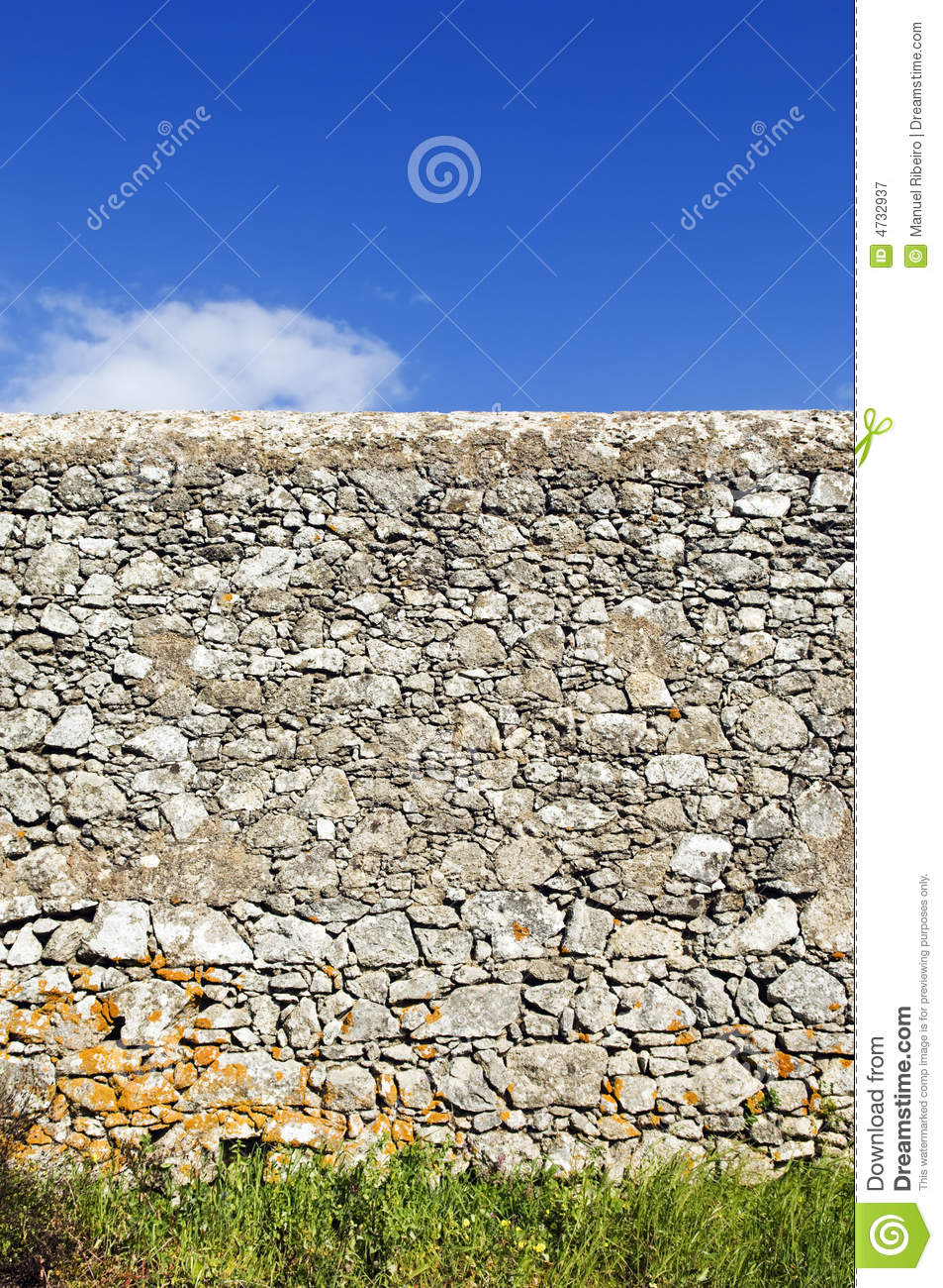 Rustic Stone Wall Royalty Free Stock Image Cartoondealer
