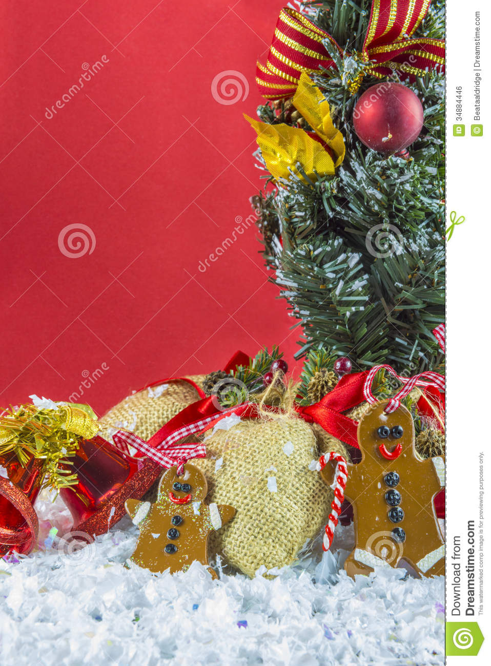 Rustic vintage christmas decorations royalty free stock for Vintage rustic christmas decorations