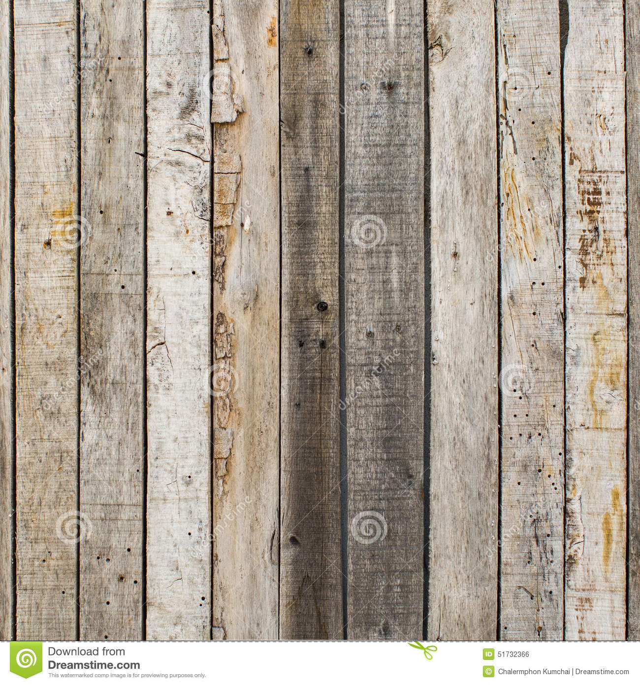 Weathered Barn Wood : Stock Photo: Rustic weathered barn wood background with knots and nail ...