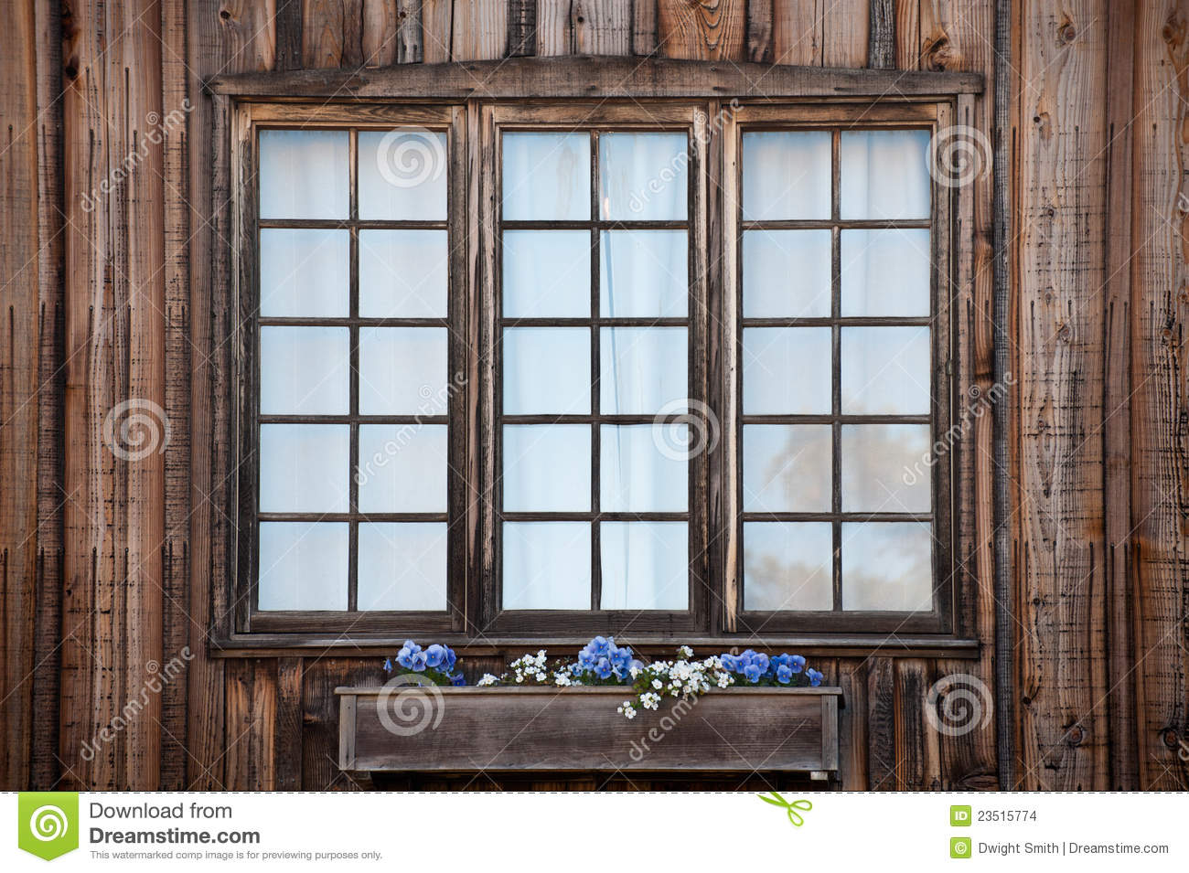 Rustic Windows Stock Images Image 23515774