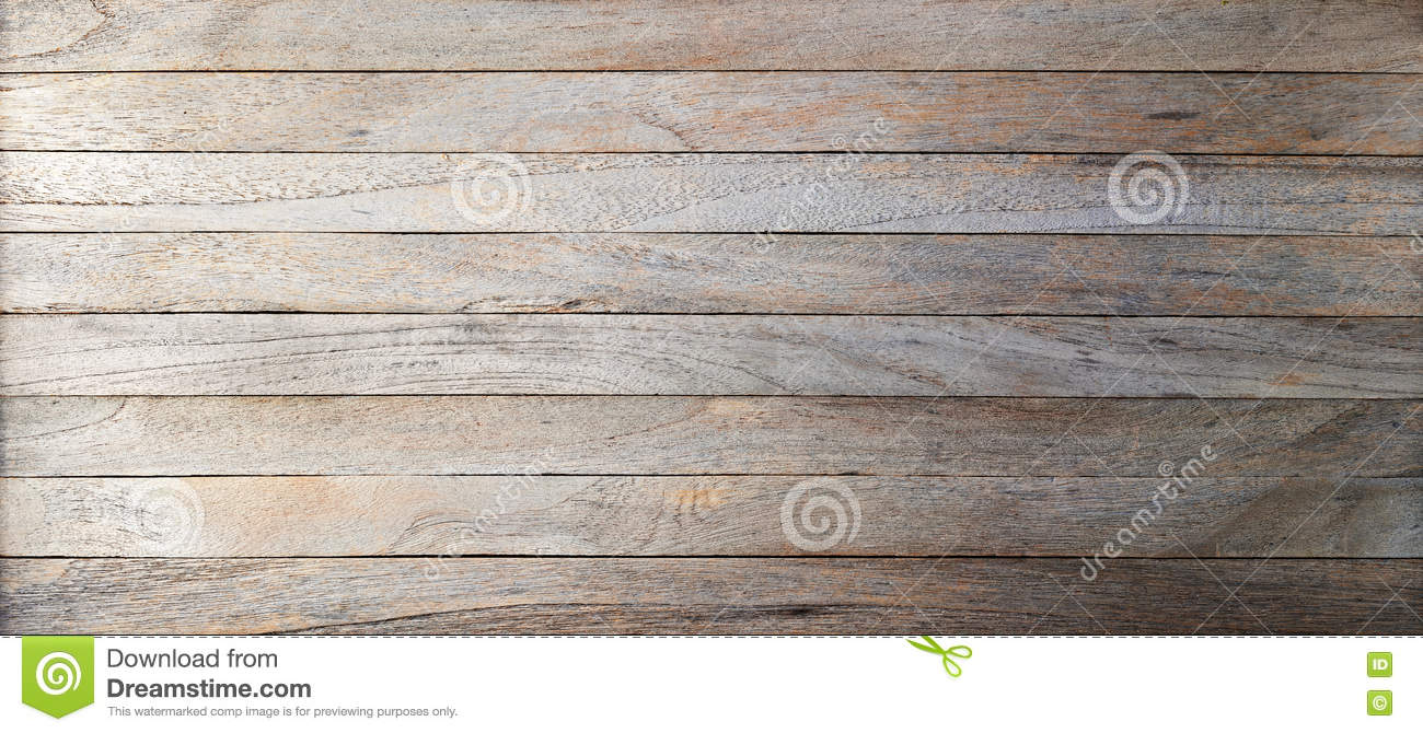 Rustic Wood Banner Background Stock Image