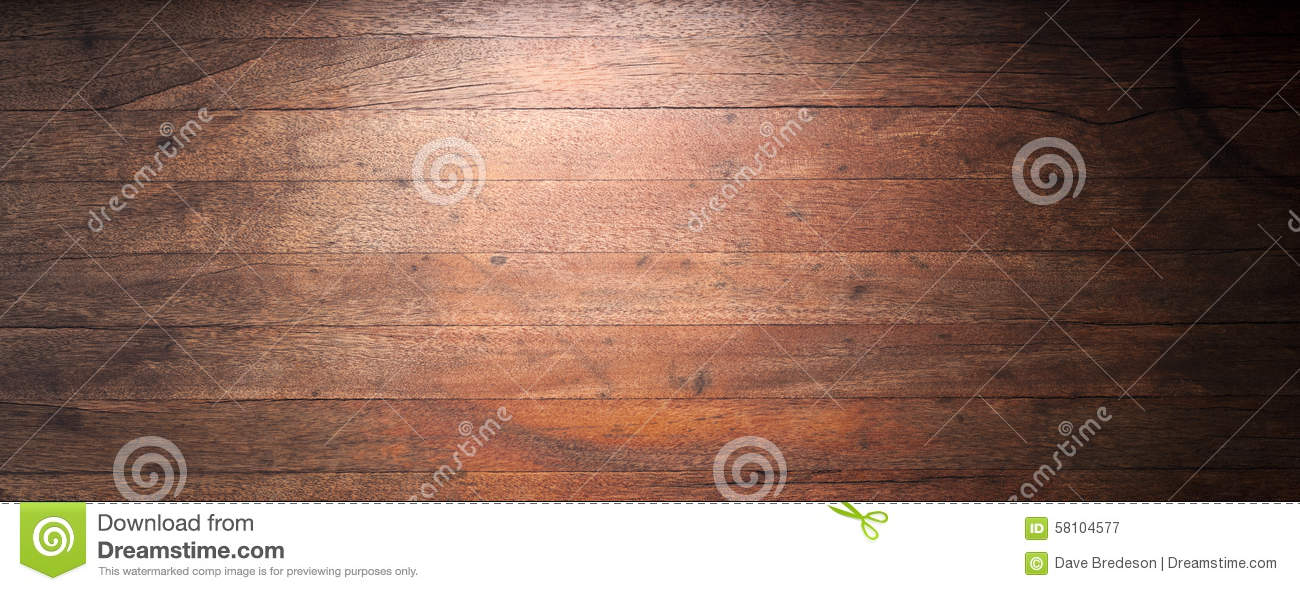 Rustic Wood Banner Background Stock Photo 58104577