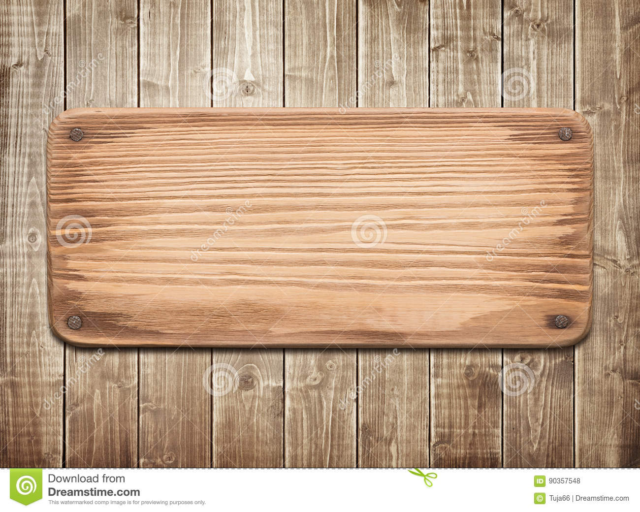 Rustic Wood Boards ~ Rustic wood board with nails stock photo image of