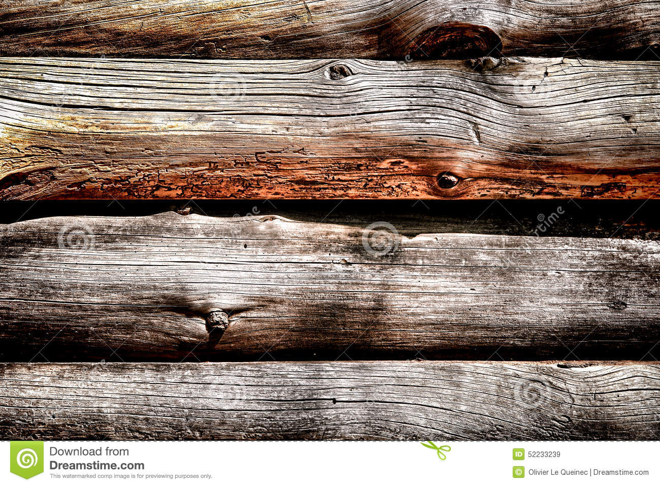 Rustic wood trunks on log cabin wall background stock for Stili di log cabin
