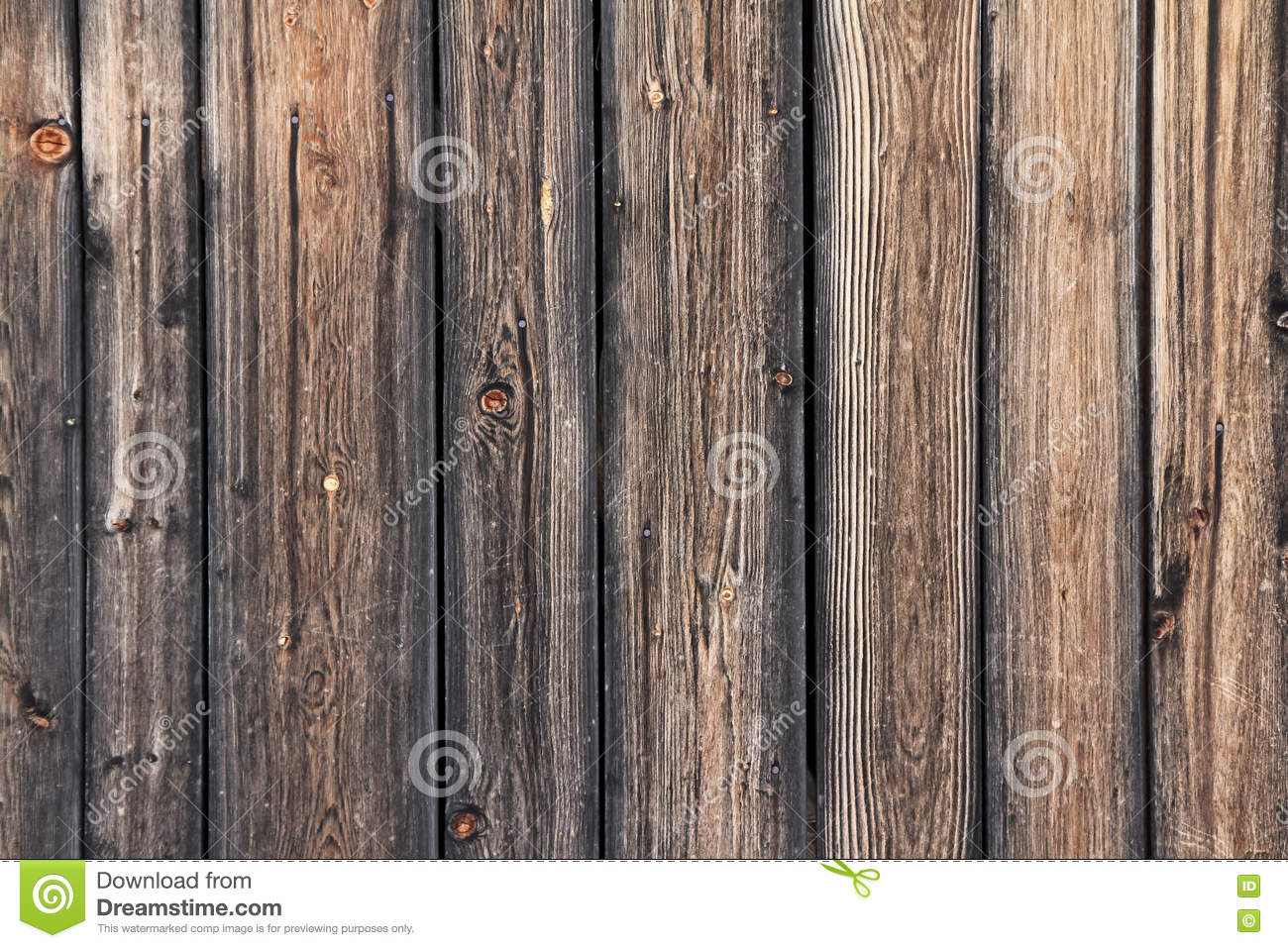 Rustic wooden fence texture background stock photo image