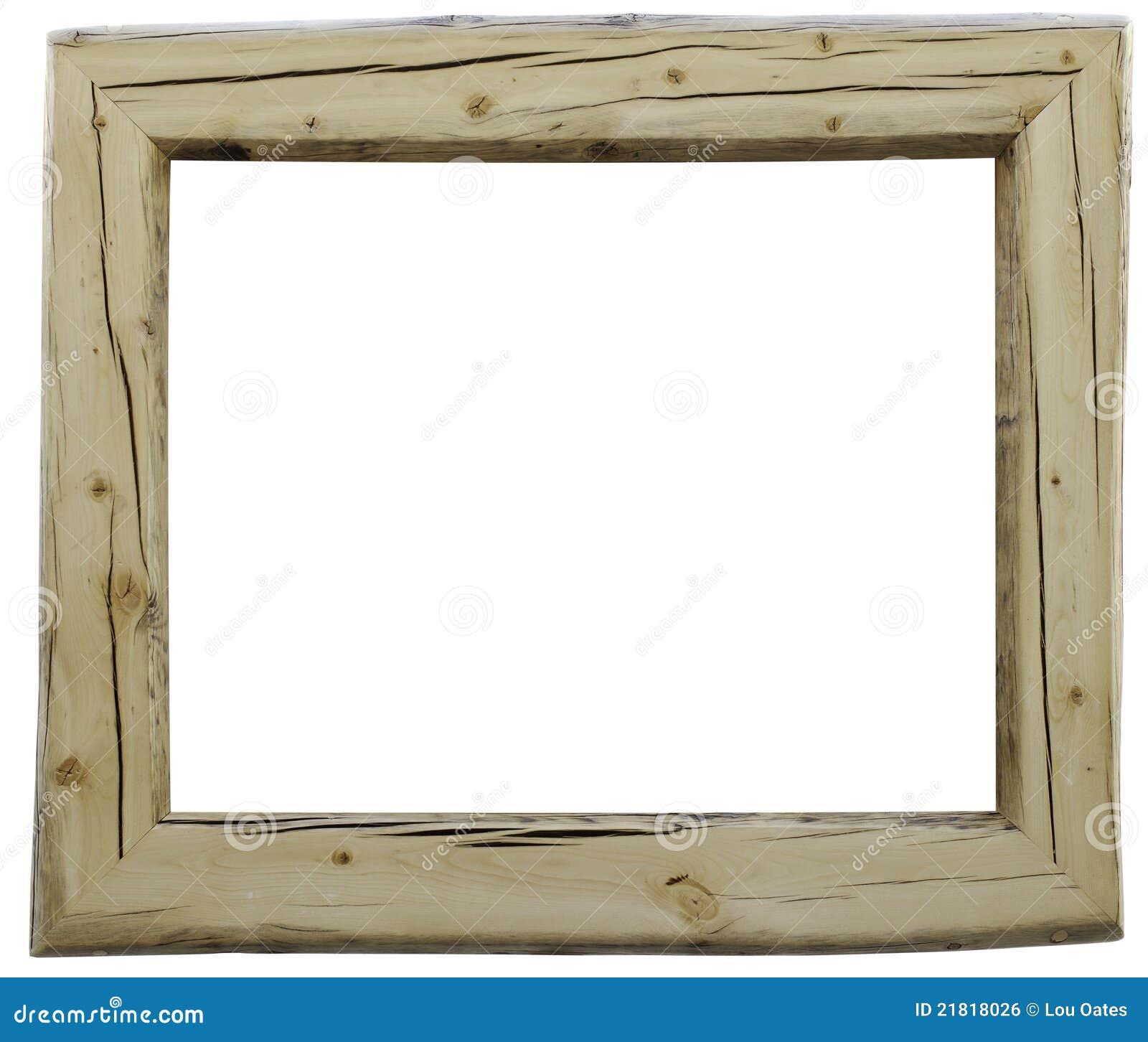 Rustiek houten frame