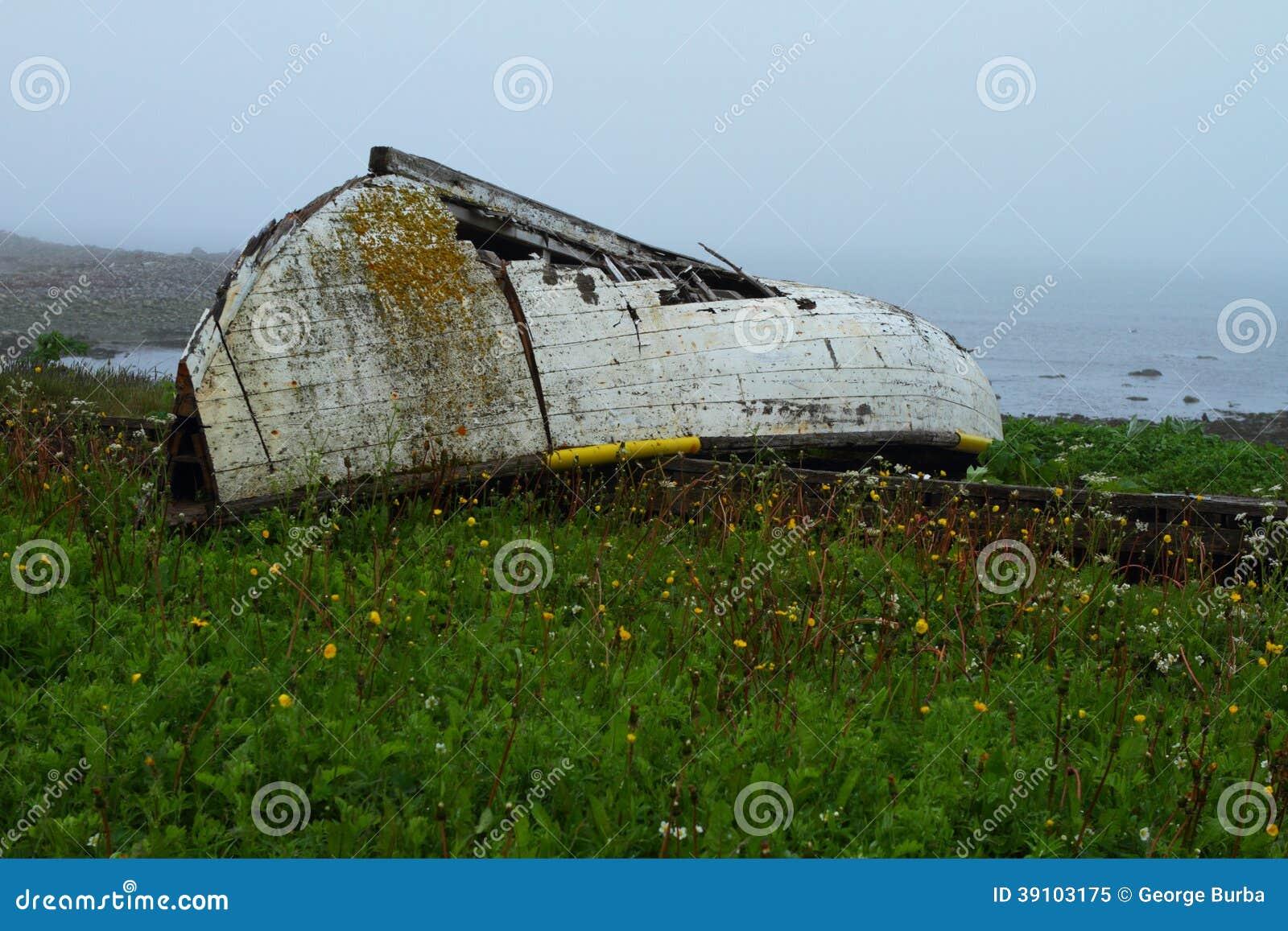 Rustieke boot