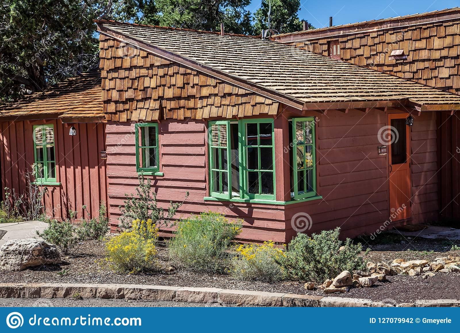 Rustieke Cabine van Helder Angel Lodge