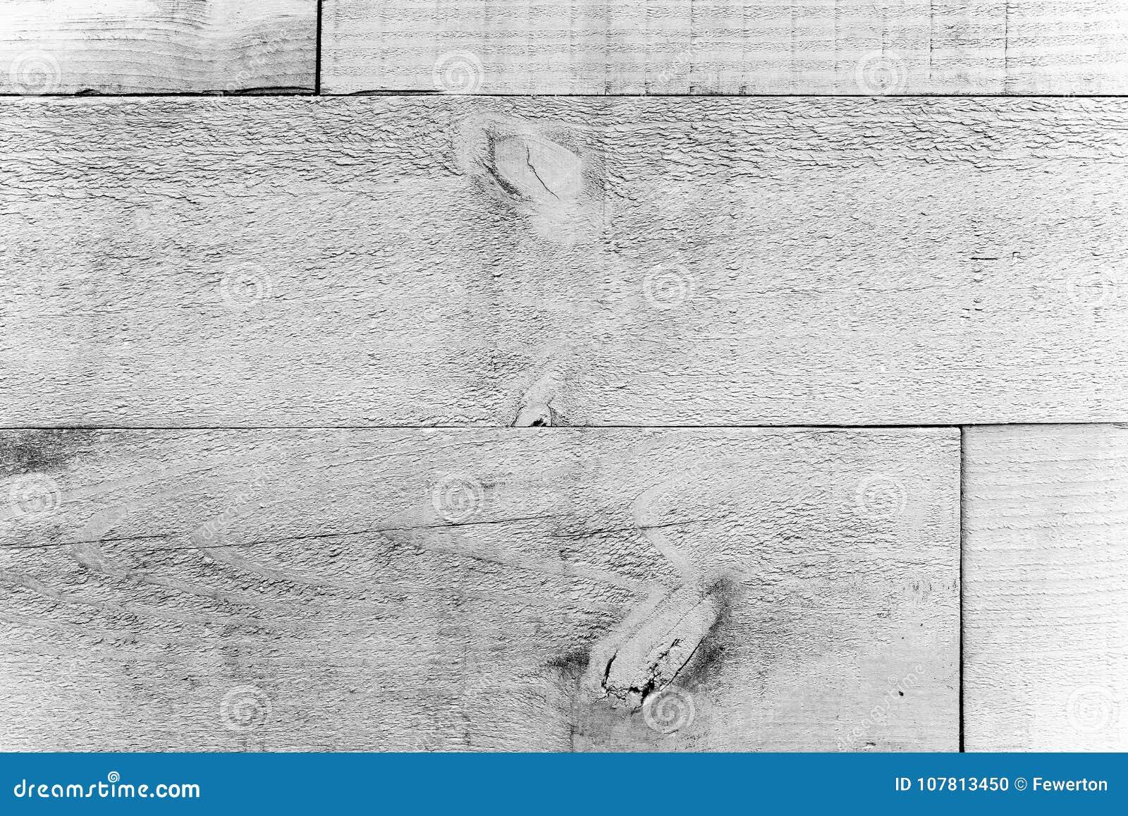 Rustieke oude grungy en doorstane witte grijze muur houten planken als houten textuur naadloze achtergrond