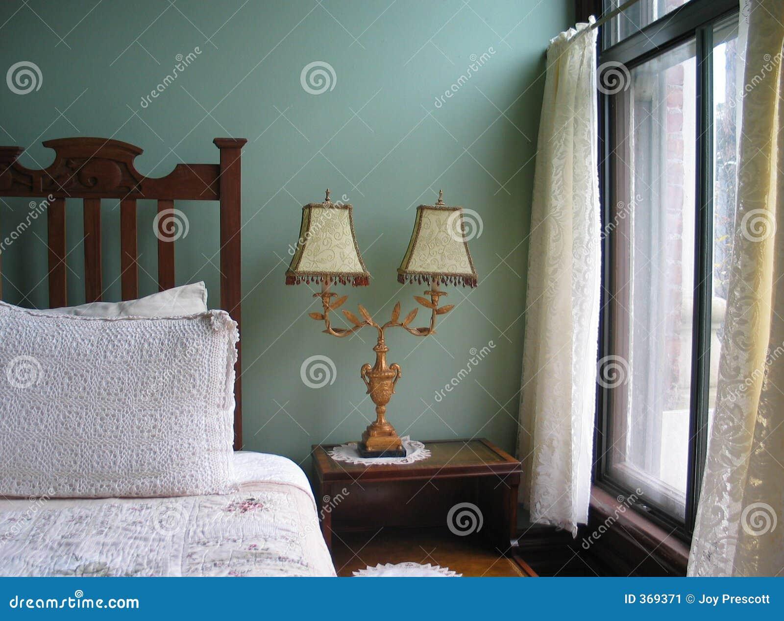 Rustige Slaapkamer Stock Afbeelding - Afbeelding: 369371