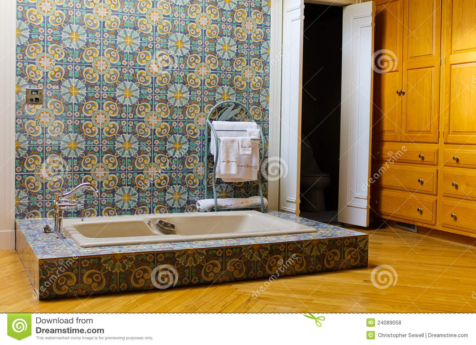 Rustikale badezimmer szene lizenzfreie stockfotos bild 24089058 - Rustikale badezimmer ...