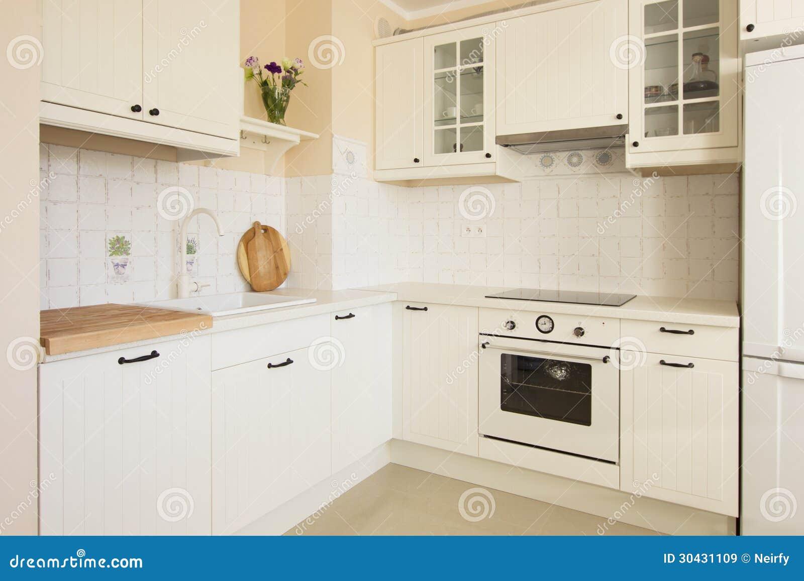 Rustikale Küche stockbild. Bild von architektur, auslegung - 30431109
