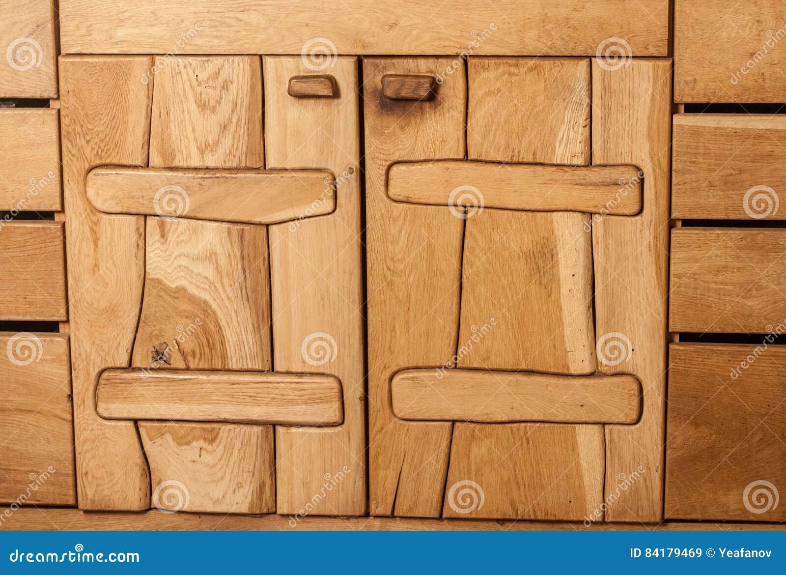 Rustikale Kuchenschranke Der Weinlese Stockbild Bild Von Rand