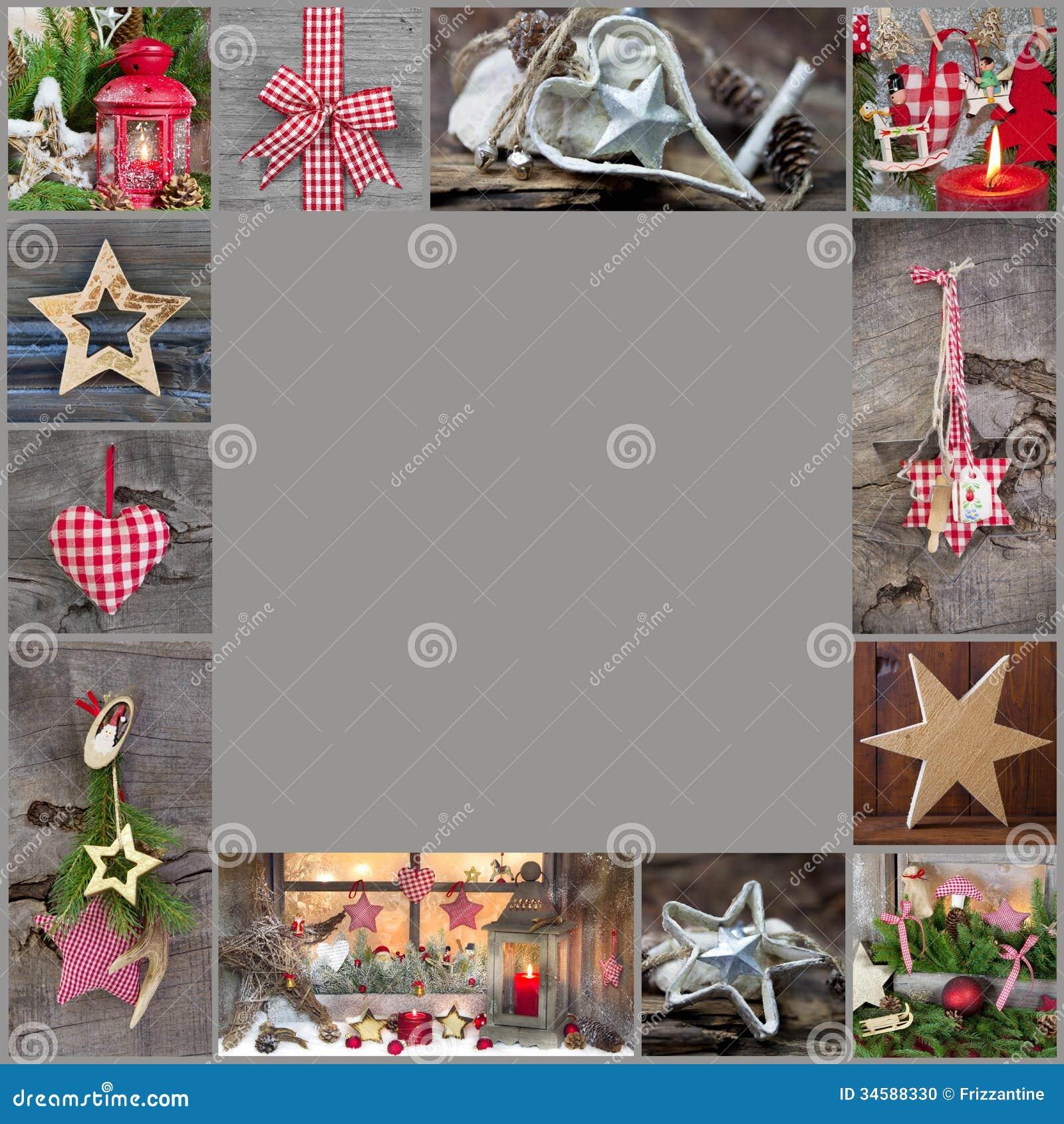 rustikale und klassische dekorationsideen f r weihnachten land styl stockfoto bild 34588330. Black Bedroom Furniture Sets. Home Design Ideas