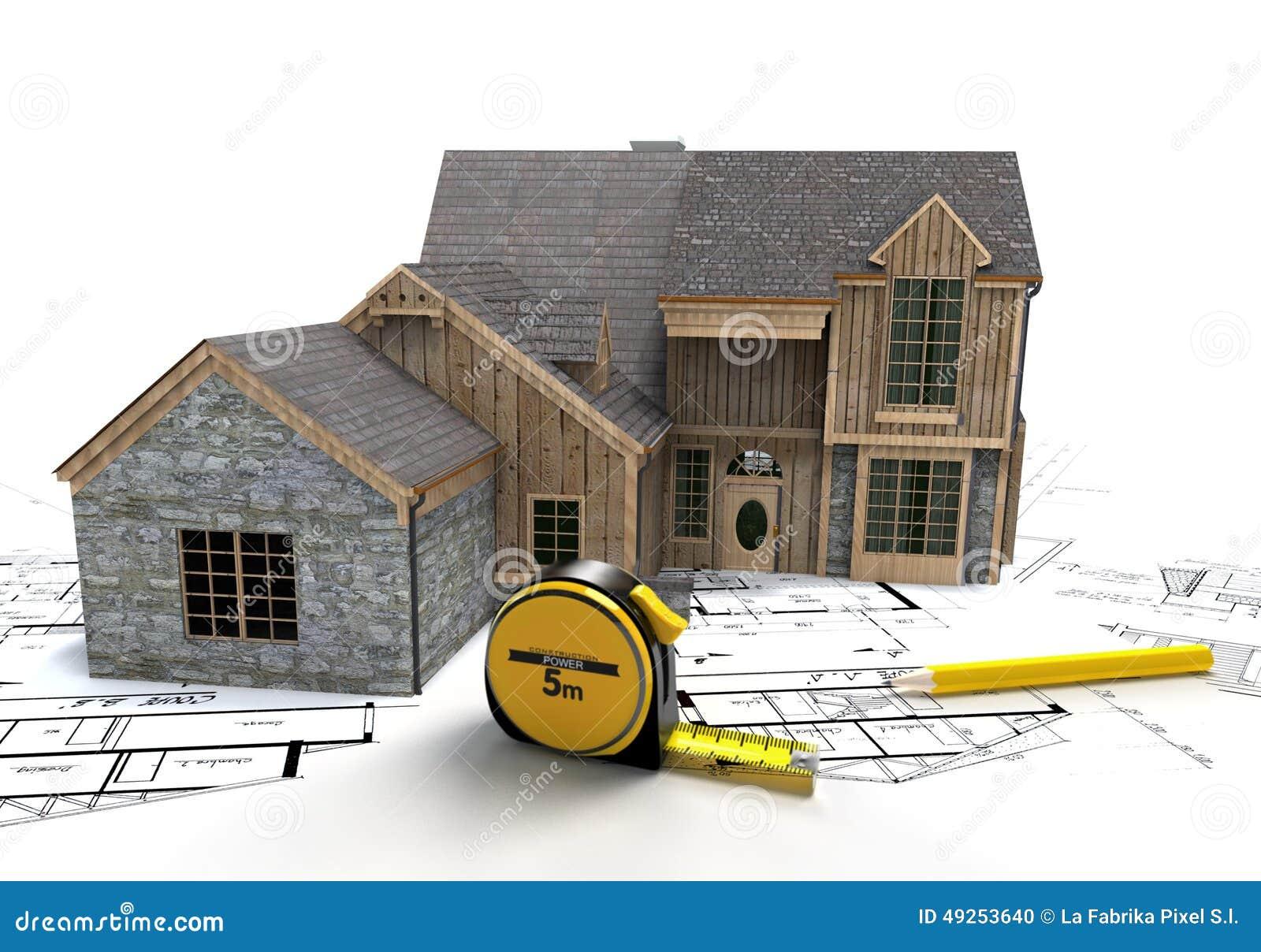 Rustikaler Hausbau Stockfoto Bild Von Schiefer Rustic