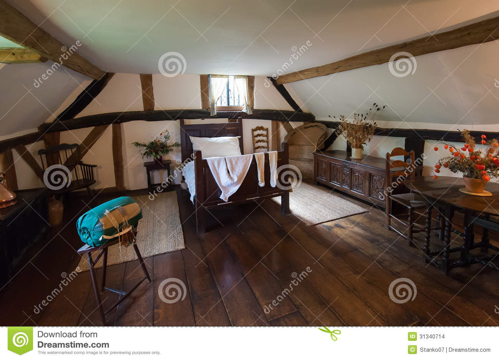 rustikales wohnzimmer stockbilder bild 31340714. Black Bedroom Furniture Sets. Home Design Ideas