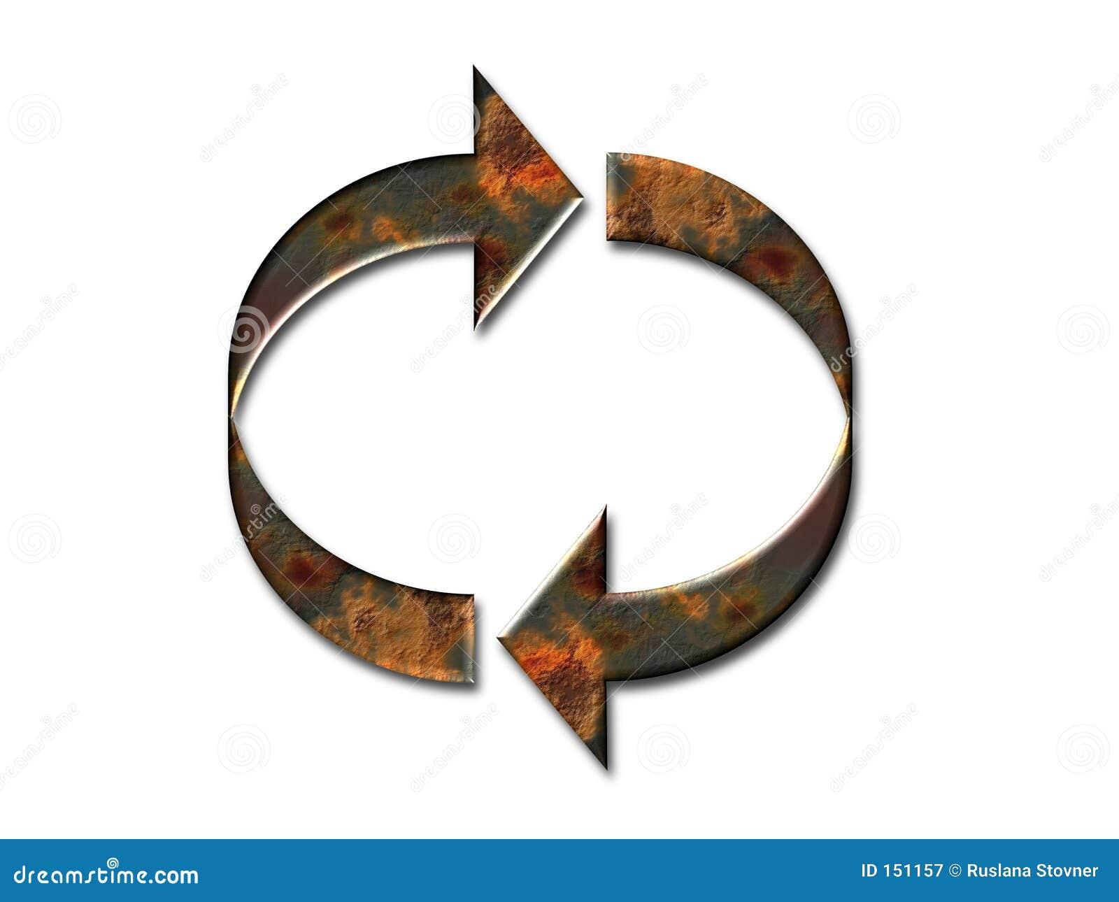 Rusty arrows