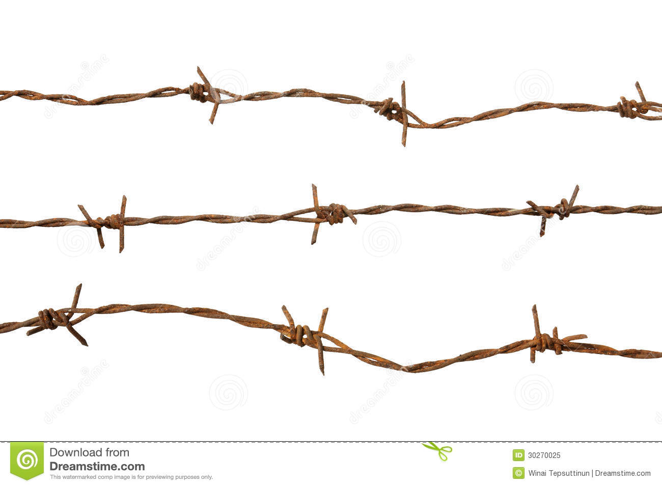 Barb wire royalty free stock photo image