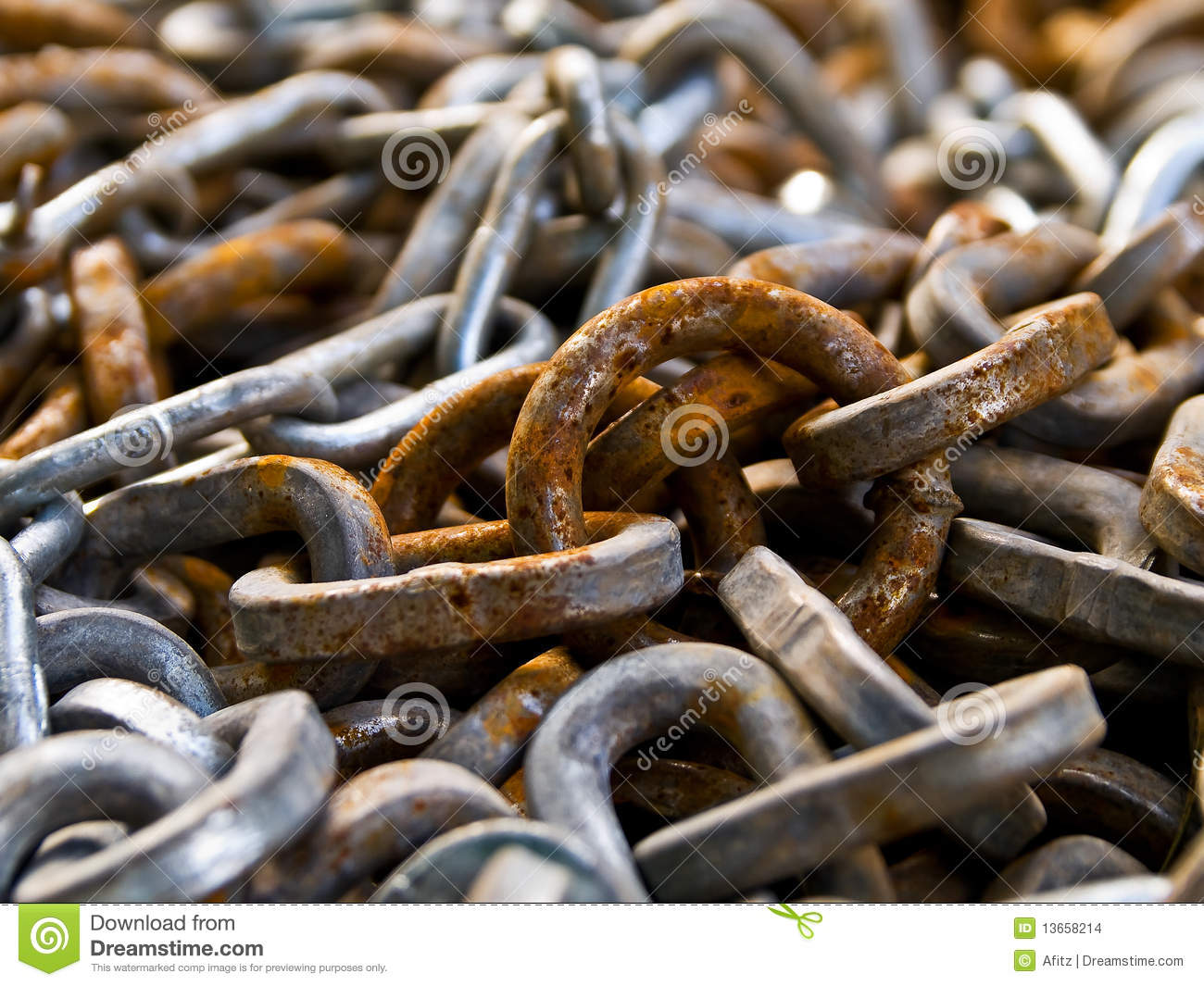 how to fix a rusty chain