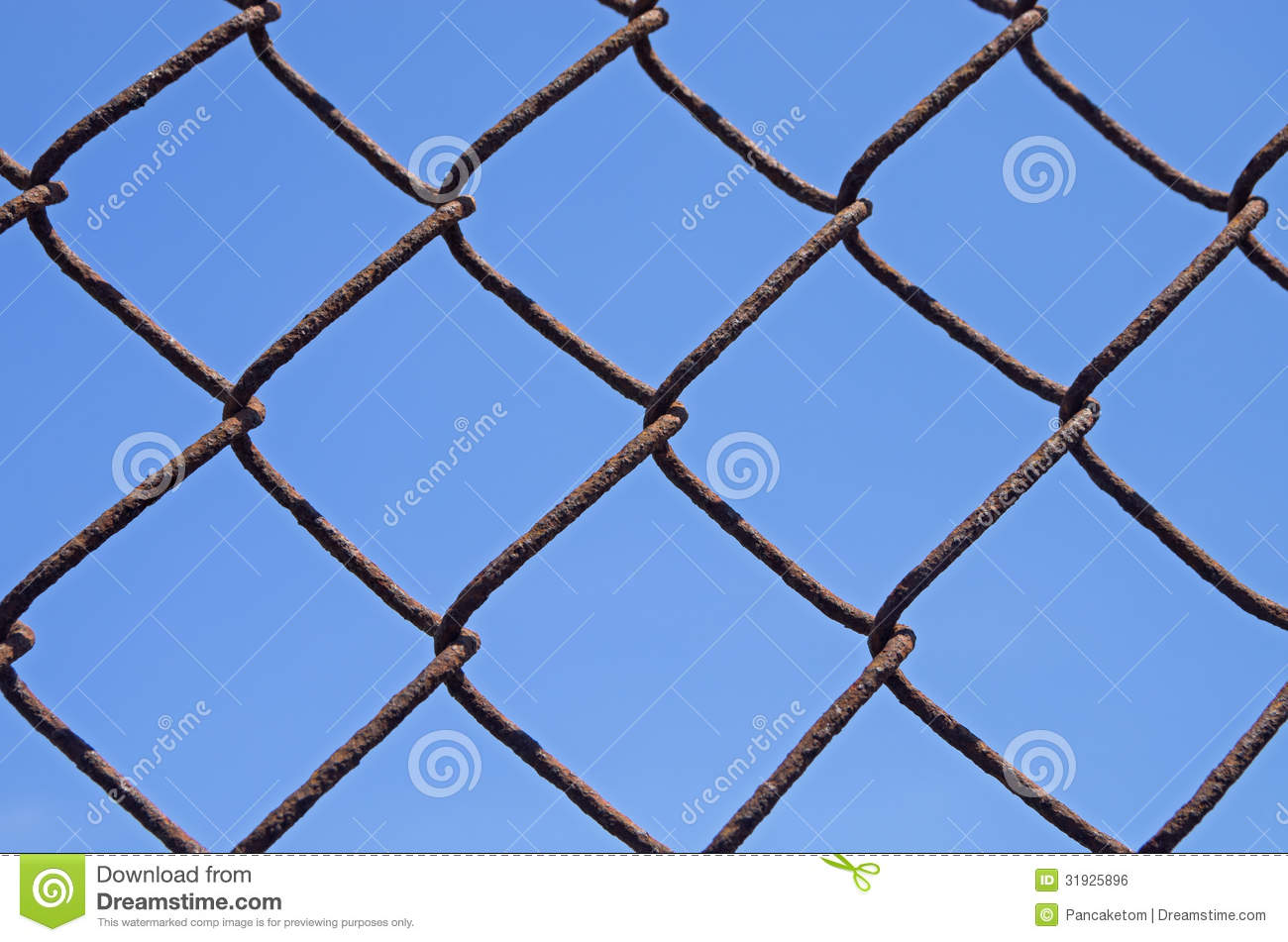 Rusty chain link royalty free stock photo cartoondealer