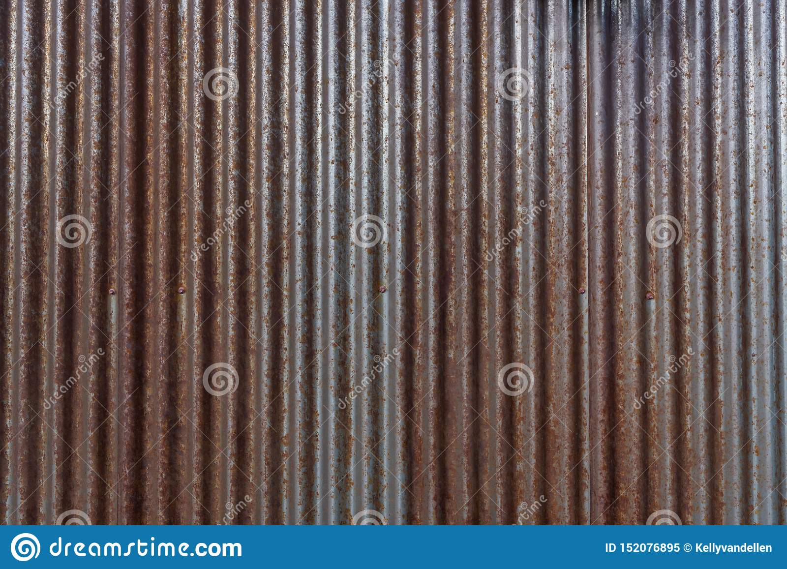 Rusty Corrigated Siding