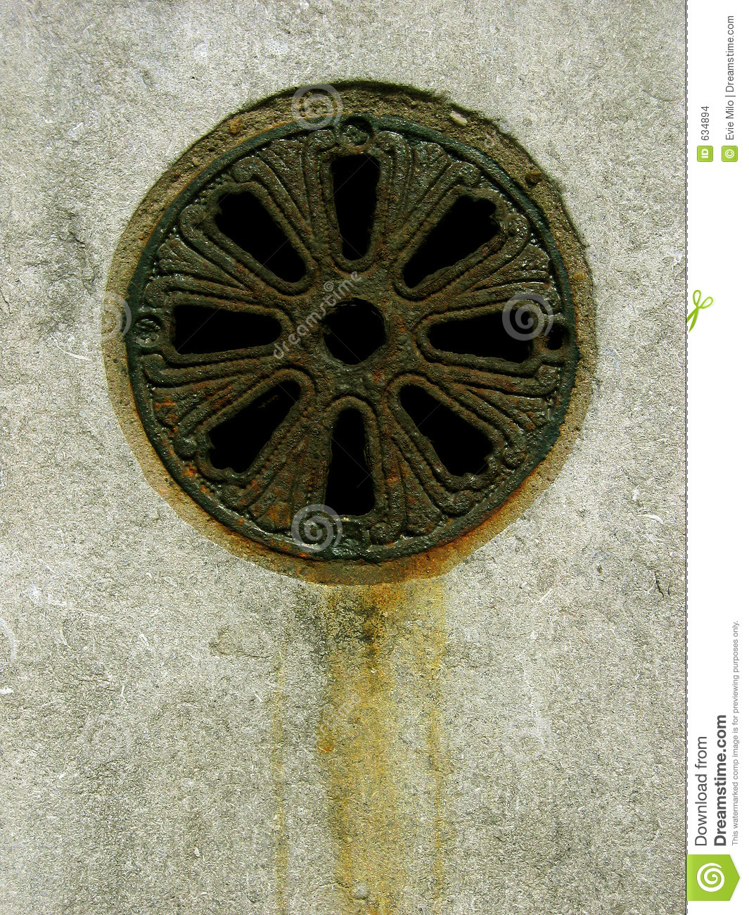 Rusty Drain Stock Images Image 634894