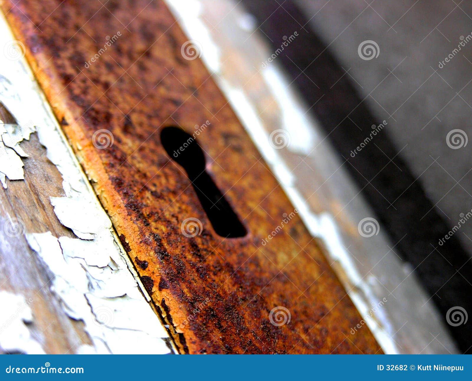 Rusty dziurkę