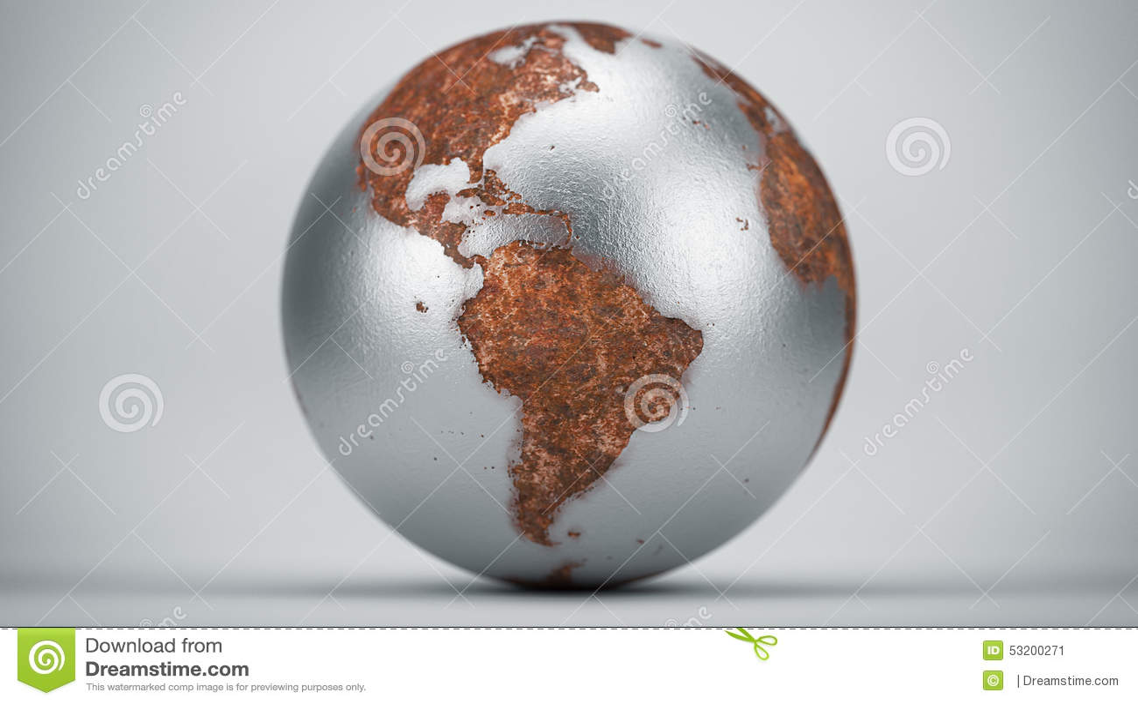 Rusty Earth South America