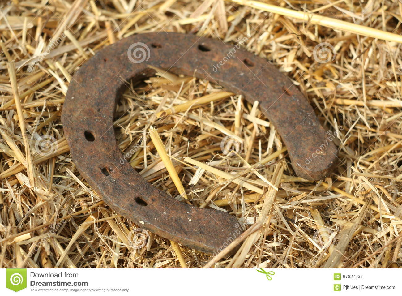 Rusty horseshoes on a straw background rustic scene in a country rusty horseshoes on a straw background rustic scene in a country style old iron horseshoe good luck symbol and mascot of well shoe motif biocorpaavc Choice Image
