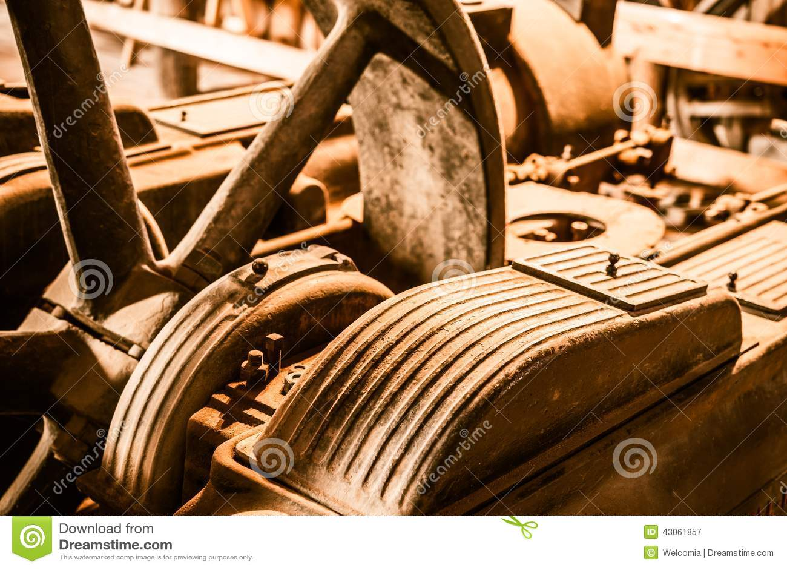 Rusty Machinery envejecido